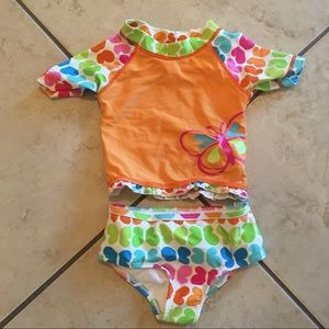 Baby girl 12 months swimsuit